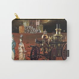 Victorian Vacation: Red Planet Carry-All Pouch