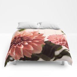 Dahlia Bouquet #1 Comforters