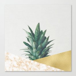 Pineapple Dip VII Canvas Print