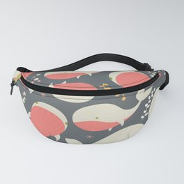 Whales 002 Fanny Pack