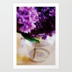Lilac Dreams Part II Art Print