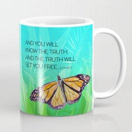 Free Spirit Butterfly Coffee Mug