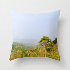 Doi Gew Lom Throw Pillow