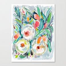 Kumquat Tumble Canvas Print