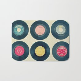 Vinyl Collection Bath Mat