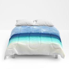 Maldives colors Comforters