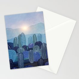 Lines in the mountains 04 Stationery Cards
