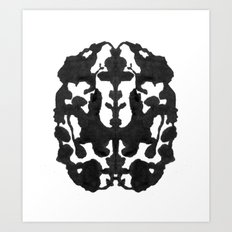 My Brain Hurts Art Print