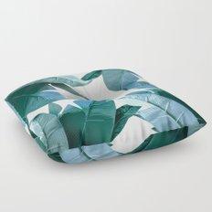 Tropical Palm Print - #4 Floor Pillow