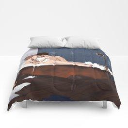 destiel shower curtain Comforters