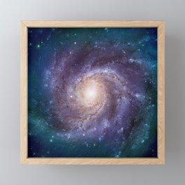 Pinwheel Galaxy Framed Mini Art Print