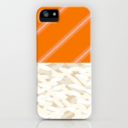 Salmon Sushi - the Yummy Collection iPhone Case