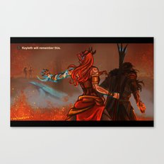Keyleth will remember this Canvas Print