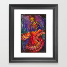 Folklorico Dancer Framed Art Print