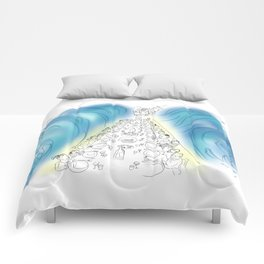 Passover Seder (without text) Comforters