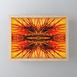Orange Firethorn Quad I by Chris Sparks Framed Mini Art Print