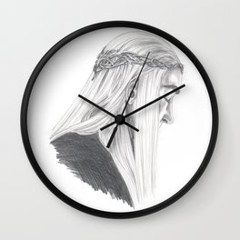 King's Thoughts Wall Clock