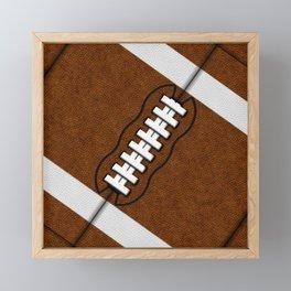 Fantasy Football Super Fan Touchdown Framed Mini Art Print