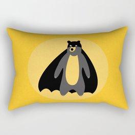 The Batbear on Mission! Rectangular Pillow