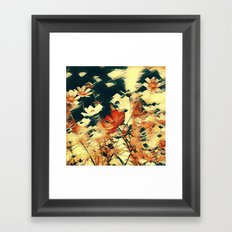 Cosmos in Abstract Framed Art Print
