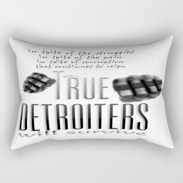 True Detroiters Rectangular Pillow