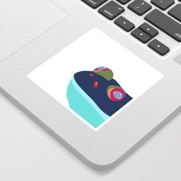 Frog blu Sticker