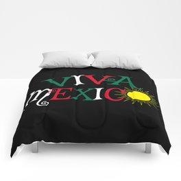 Viva Mexico Comforters