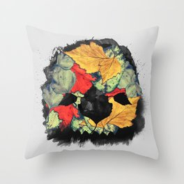 Death of Autumn Throw Pillow
