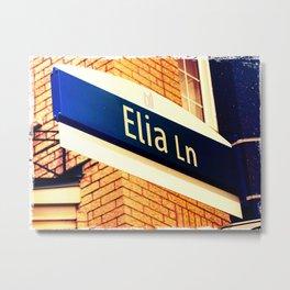 Elia Lane Metal Print