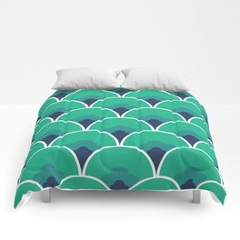 Nouveau Coquille Comforters