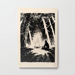 Slav by Anna Helena Szymborska Metal Print