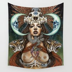 Pull Me Out From Inside Wall Tapestry