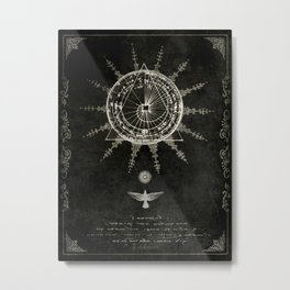 Book of the Sun (akashic records) Metal Print