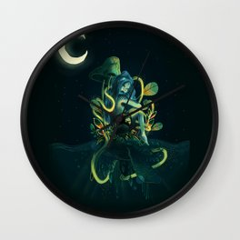magical mermaid Wall Clock