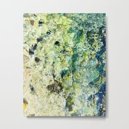 Abstract seabed Metal Print