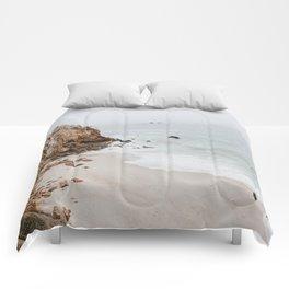 malibu coast / california Comforters