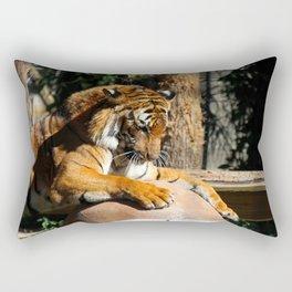 The Tiger Triumphant Rectangular Pillow