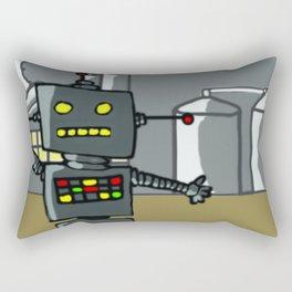 Ominous Snapshot Rectangular Pillow