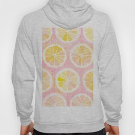 Orange Slices Pastel Fruit Hoody