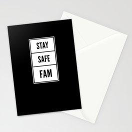 Stay Safe Fam Stationery Cards