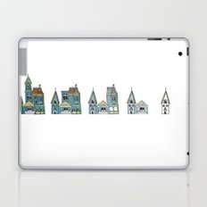 Sub(tract) housing in blue Laptop & iPad Skin