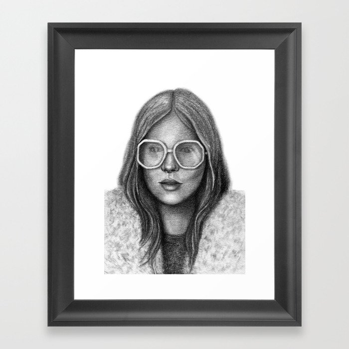 Don't be a lady, be a legend Framed Art Print