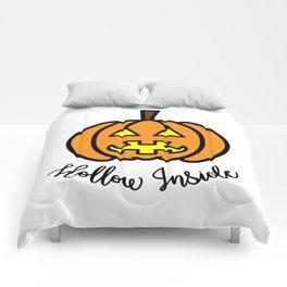 Pumpkin Hollow Inside Comforters