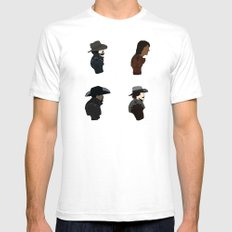 The Musketeers SMALL White Mens Fitted Tee