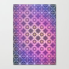 TEXTURE POP - Psychedelic | Mixed Colour | Pop | Abstract | Vector | Retro | Vintage Canvas Print