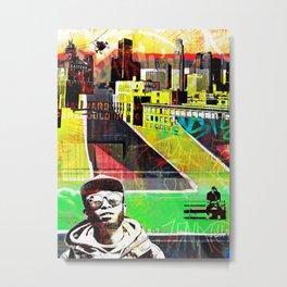 BIG CITY LIFE Metal Print