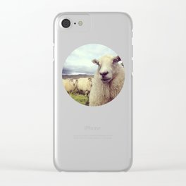 What's up? Clear iPhone Case