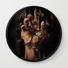 Sitting In Silences Wall Clock