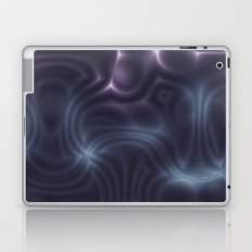 Purple Waves Laptop & iPad Skin