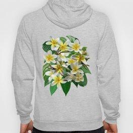 Plumeria Flowers Hoody